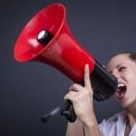 Hear me!! — Stock Photo