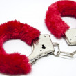 Sexy handcuffs — Stock Photo