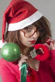 Merry christmas lovers — Stock Photo