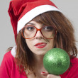 Christmas Girl — Stock fotografie