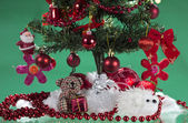 Cute christmas ornaments — Stockfoto