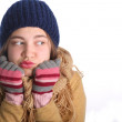 It's cold outside — Stock Photo