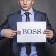 Stock Photo: Boss