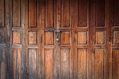 古い木製のドア — ストック写真