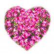 Foto Stock: Heart shaped bouquet