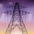 Electricity Pylon — Vector de stock  #23922807