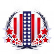 USA-emblem — Stockvektor  #23935665
