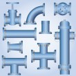 Plumbing Element - Stock Vector