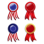 Badges — Stock Vector
