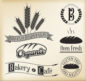 Bakery Signs — Vector de stock