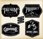 Vintage Labels — Stockvector