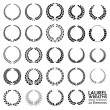 Laurel Wreaths - Stockvektor