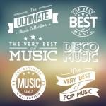 Music Labels vol.3 — Stock Vector #30970119