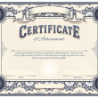 Certificate or Diploma Template — Stockvektor