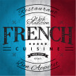 French Cuisine — Stock Vector #34821273