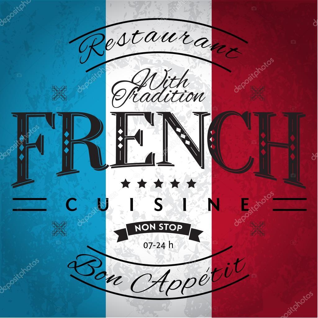 französische küche — stockvektor © andrejco #34821273