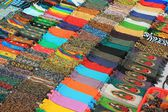 Beadwork for sale at a market in Mexico — Stock Photo