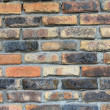 Weathered brick wall — Photo