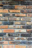 Weathered brick wall in Whitefish, Montana — Stock Photo