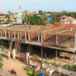 Busy construction site in Siem Reap, Cambodia — Stock Photo