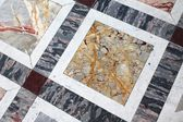Polished stone floor in Paris, France — Stock Photo