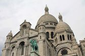 Domes of Sacre Coeur Cathedral, Paris, France — Stock Photo