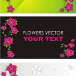Flower vector - Stock Vector