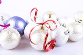 New year balls — Stock Photo