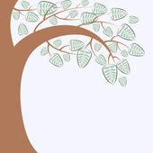 Branch of a tree — Stock Vector