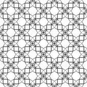 Seamless mönster av kurvor — Stockvektor