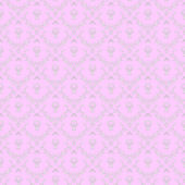 Pink colour lovely seamless pattern — Vector de stock