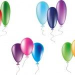 Baloons — Stock Vector