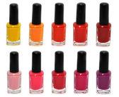 Nail polish set — Stock Photo