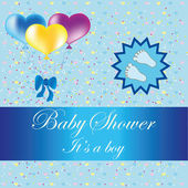 Baby shower — Stockvector