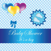Baby shower — Vetorial Stock