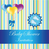 Baby shower — Stockvektor