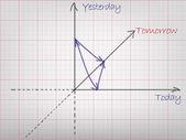 Chart — Stock Vector