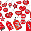 Price tags — Stockvector #36034913