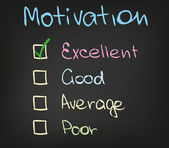 Motivation scale — Stockvektor