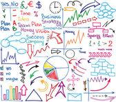Business materials — Stock Vector