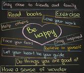 Amor y felicidad — Vector de stock