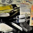 Illegal Street Drugs — Stock Photo