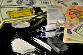 Illegal Street Drugs — Foto de Stock