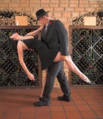 Tango move — Stock Photo