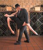Tango move — Stock Photo