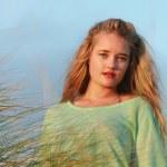 Blonde lady — Stock Photo #40126071
