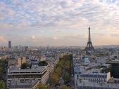 Paris ve eyfel kulesi — Stok fotoğraf