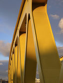 Bridge construction close-up — Stock Photo