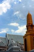 佛教庙宇的屋顶. — 图库照片