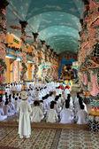 Praying At Cao Đài Temple — Foto de Stock